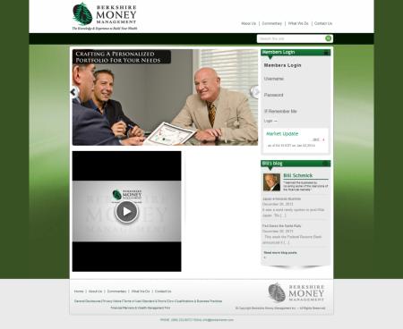 Berkshire Money Management screenshot