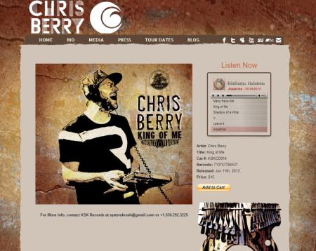 Chris Berry - King of Me