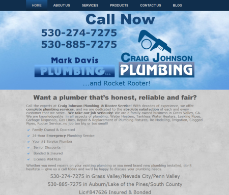 Craig Johnson Plumbing