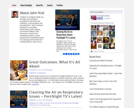 John Krol, OneEighty Media