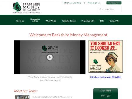 Berkshire Money Management new site